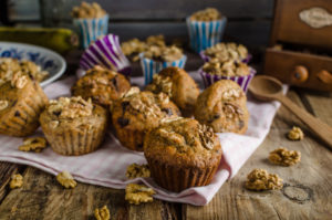Berry & Nut Muffins