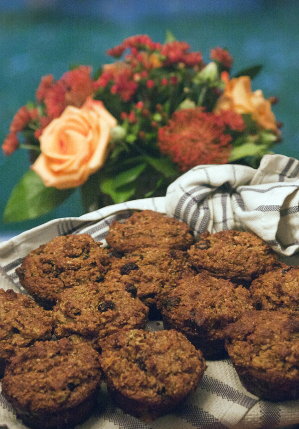 carrot muffins, gluten free, grain free, healthy, delicious