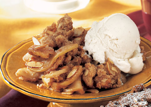 grannies apple crunch