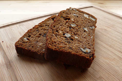 quick pumpkin bread - gluten free