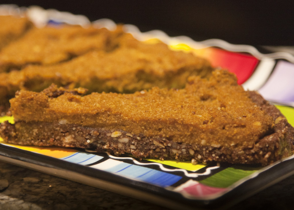 Pumpkin Chiffon Chocolate Tart