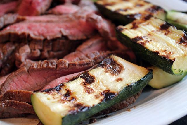 balsamic grilled skirt steak