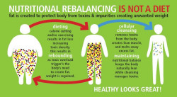 toxic chemicals and accumulated waste prevent weight loss