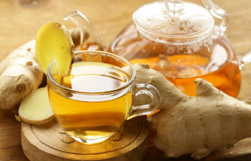 ginger root tea