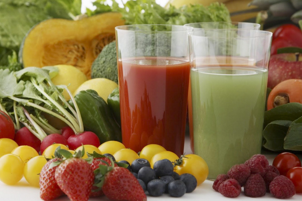 "Vitality juice a.k.a veggies ""to go"""