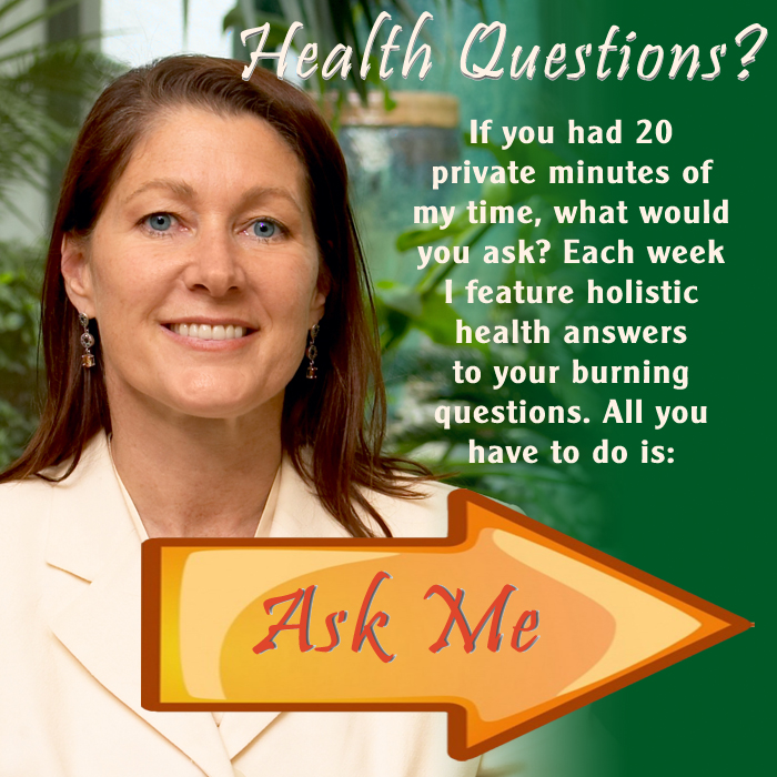 ask a holistic health professional