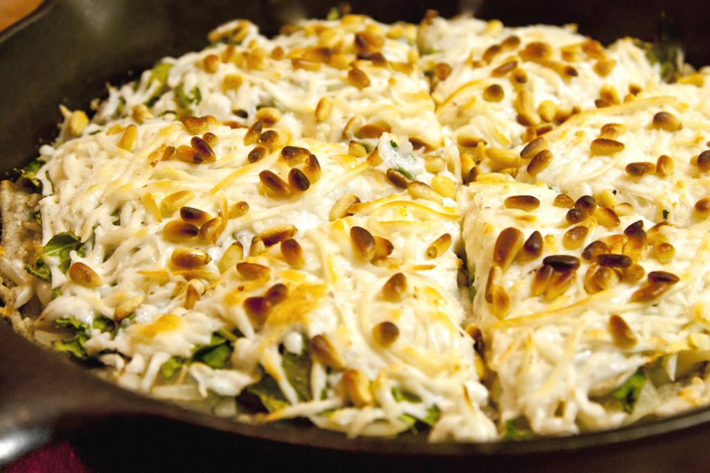 deep-dish gourmet paleo pizza