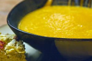 Moroccan Pureed Yam Soup
