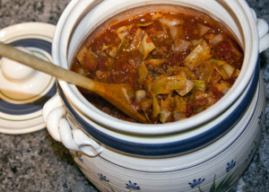 George's Unstuffed Cabbage Soup