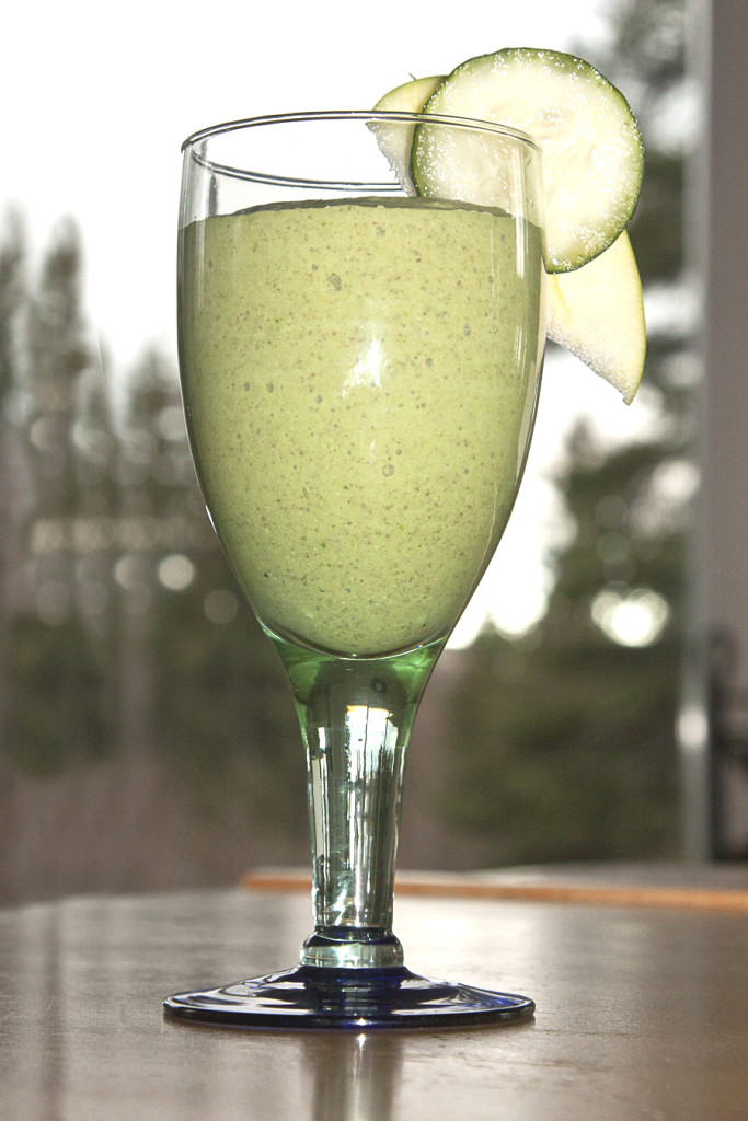coconut milk kefir green smoothie