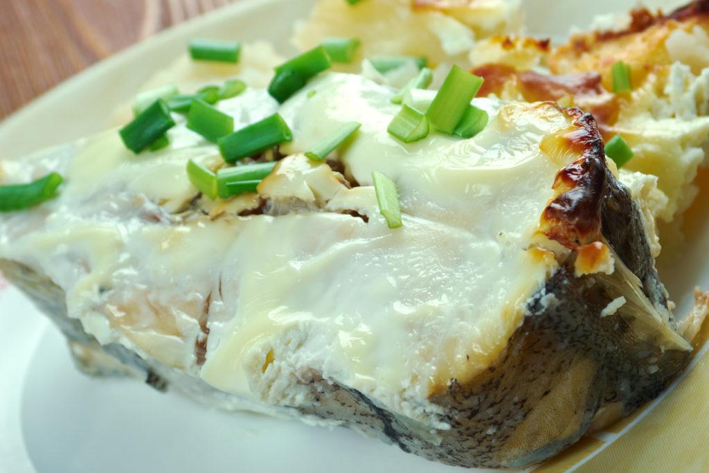 Tangy Alaska Halibut Recipe - OurNutritionKitchen.com Alaskan Halibut Dish